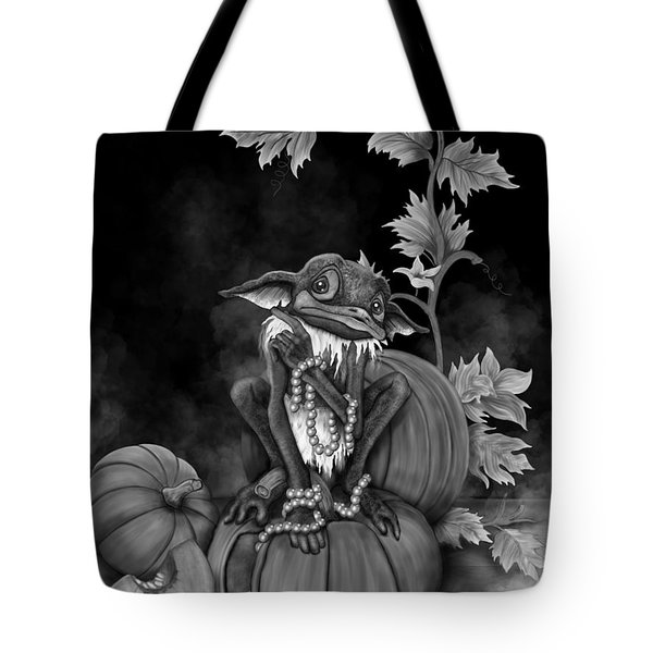 Explain Yourself - Black And White Fantasy Art Tote Bag