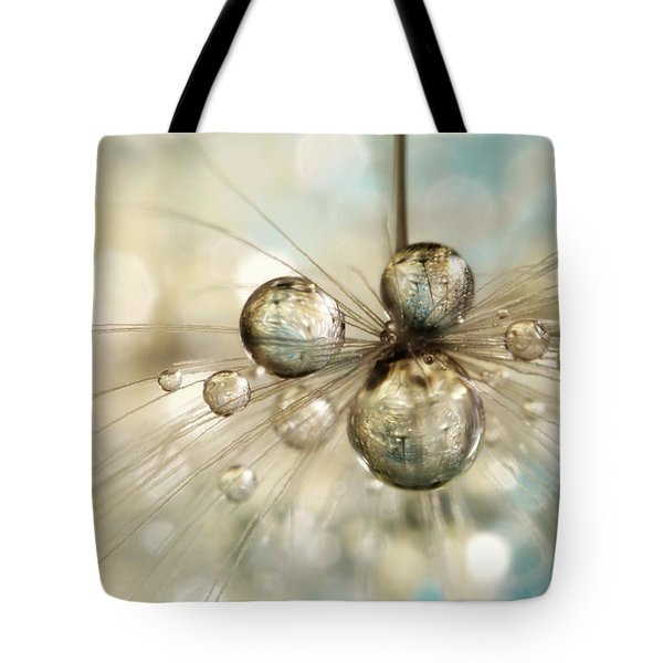 Exploding Dandy Drops Tote Bag