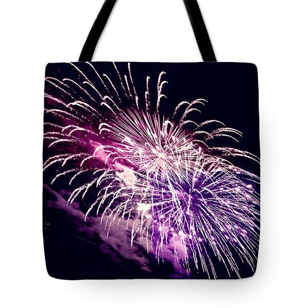 Exploding Stars Tote Bag
