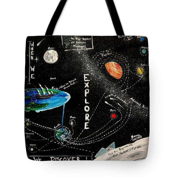 Explore And Discover Collector Edition Tote Bag by Mandy Elliott