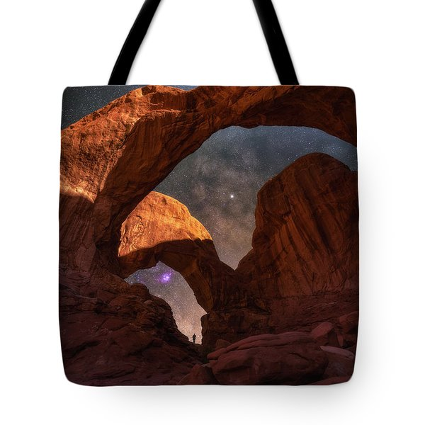 Tote Bag featuring the photograph Explore The Night by Darren White