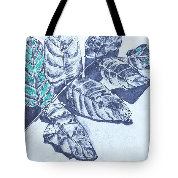 Exploring A Leaf 1 Tote Bag