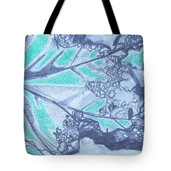 Exploring A Leaf 2 Tote Bag