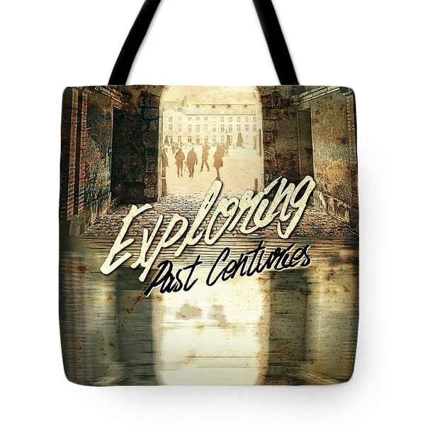 Exploring Past Centuries Fontainebleau Chateau France Architectu Tote Bag