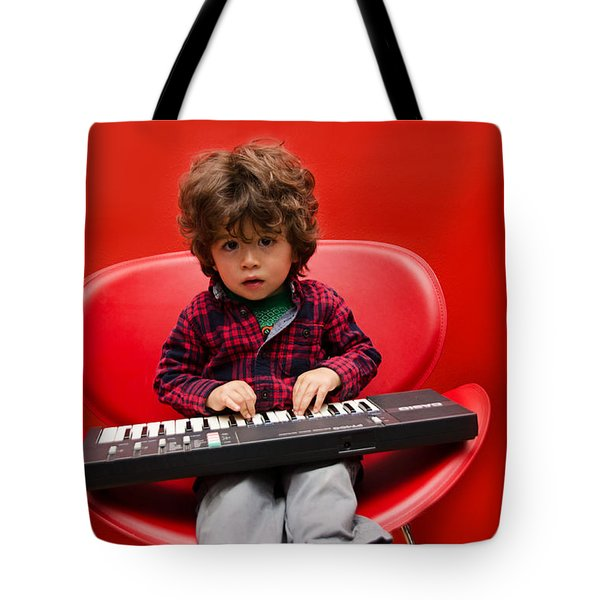 Exploring Piano Tote Bag
