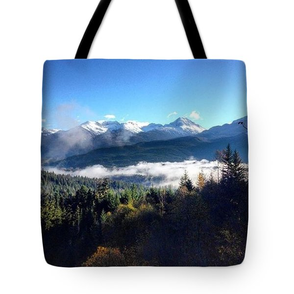 Exploring The Mountains Tote Bag