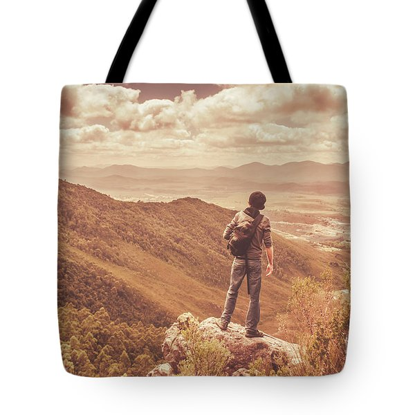 Exploring The Rugged West Coast Of Tasmania Tote Bag