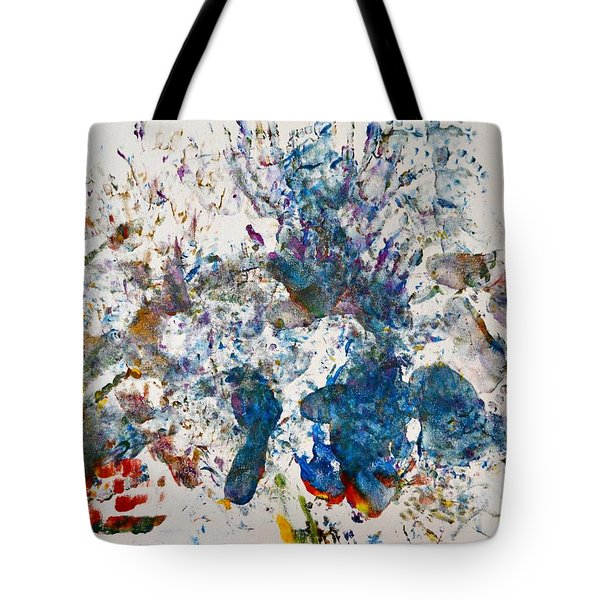 Explosion At The Macaroni Factory Tote Bag
