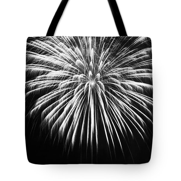 Explosion Tote Bag by Colleen Coccia