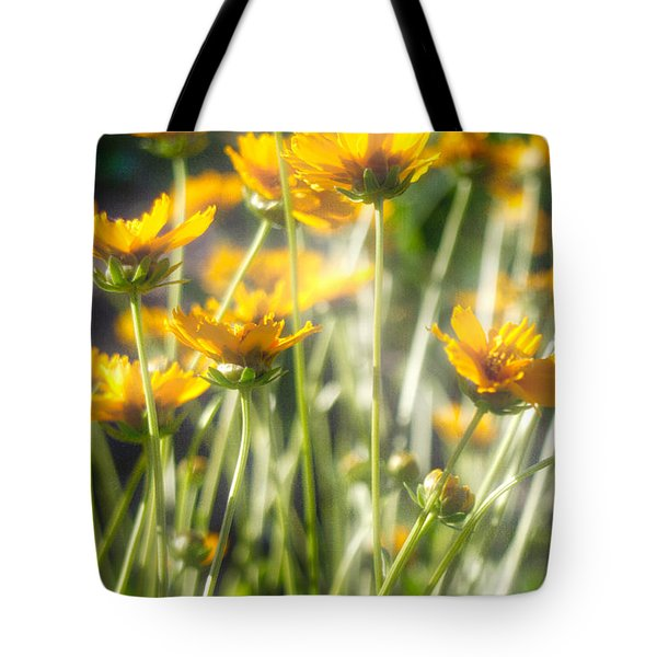 Explosion Of Yellow Tote Bag