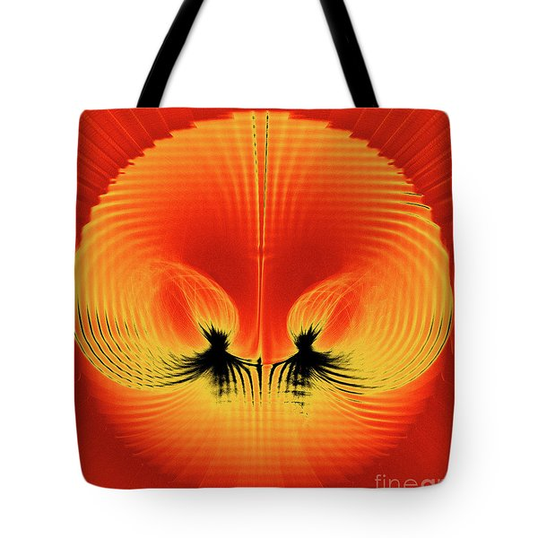 Explosive Eruption Tote Bag