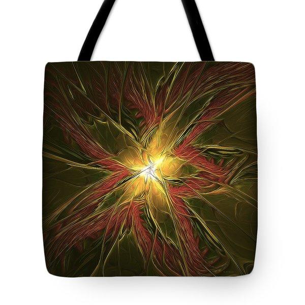 Explosive New Star Tote Bag by Deborah Benoit