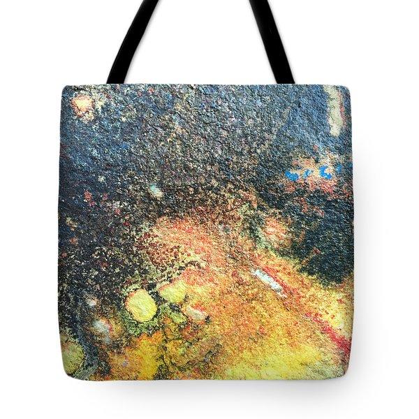Explosive Sunrise Tote Bag