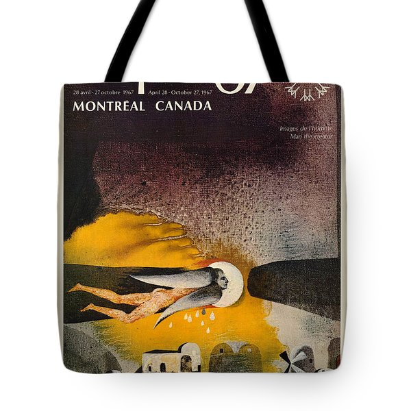 Expo 67 Tote Bag by Andrew Fare
