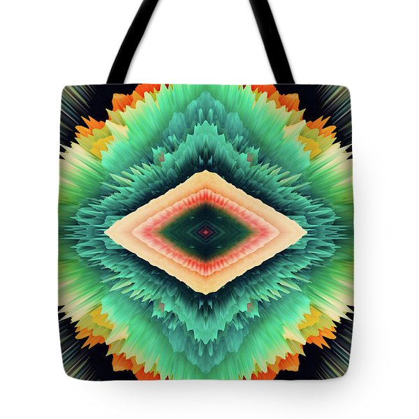 Tote Bag featuring the photograph Exponential Flare by Colleen Taylor