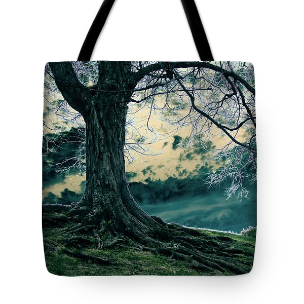 Exposed Roots Tote Bag by Misha Bean