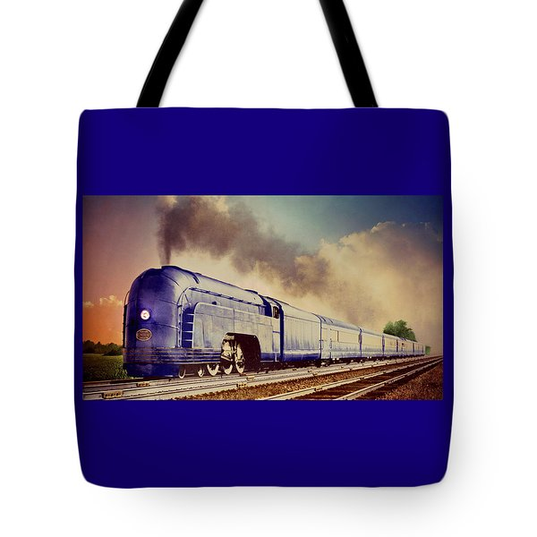 Express Tote Bag by Steven Agius