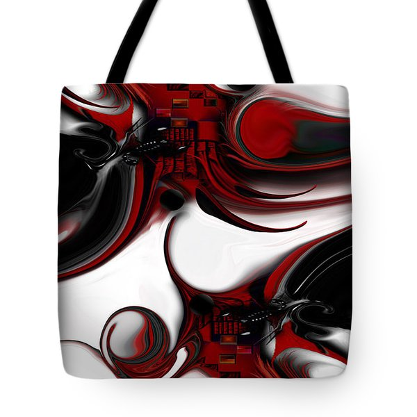 Expression And Creation Tote Bag by Carmen Fine Art