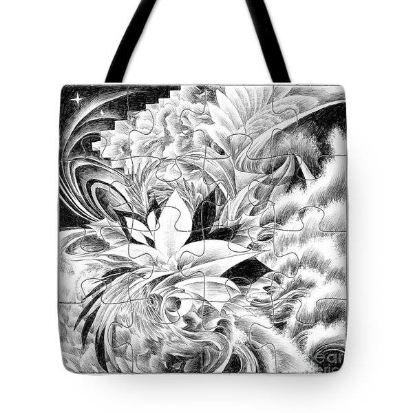 Expression - Heart Tote Bag