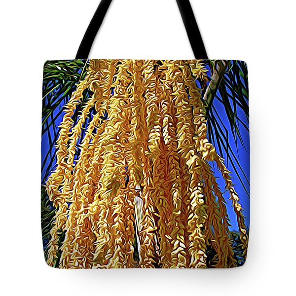 Tote Bag featuring the photograph Expressionalism Cascading Seed Pod by Aimee L Maher Photography and Art Visit ALMGallerydotcom