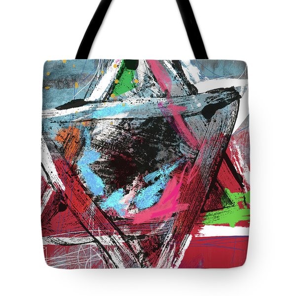 Expressionist Star Of David- Art By Linda Woods Tote Bag