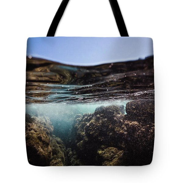 Expressive Rocks Tote Bag