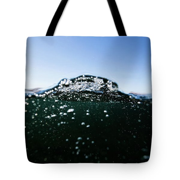 Expressive Water Tote Bag