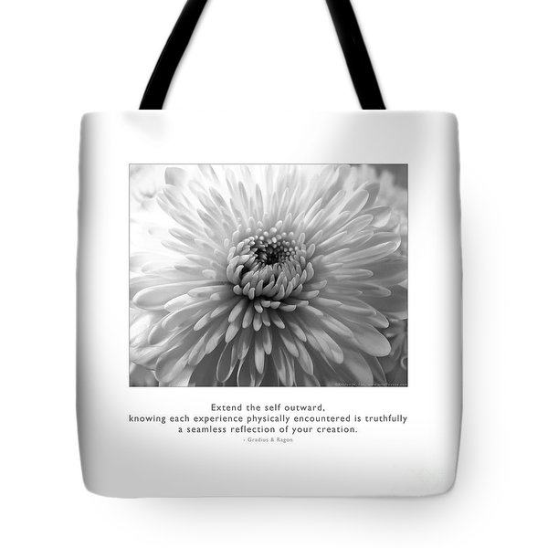 Tote Bag featuring the photograph Extend The Self Outward by Kristen Fox