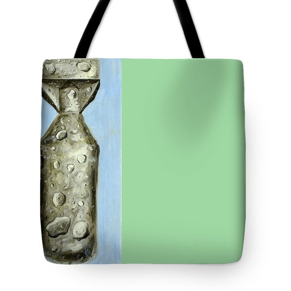 Tote Bag featuring the painting Extinction by Ryan Demaree
