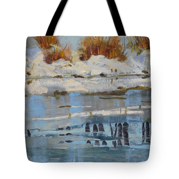 Extra Thin Ice Tote Bag