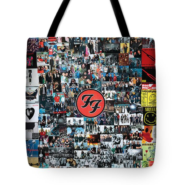 Extraordinary Hero Collage Tote Bag