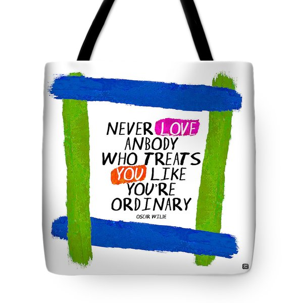Tote Bag featuring the painting Extraordinary Love II by Lisa Weedn