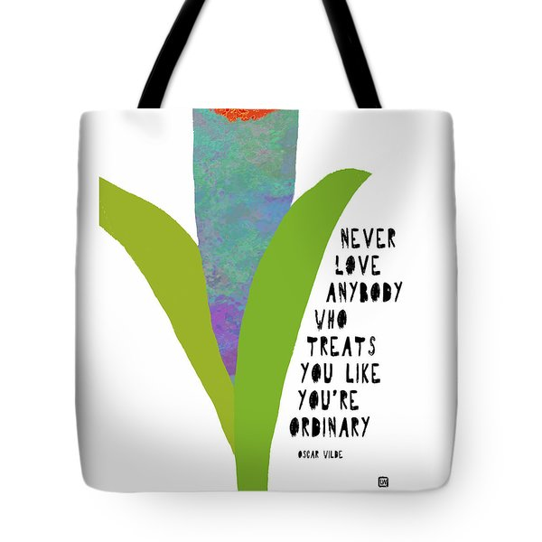 Tote Bag featuring the painting Extraordinary Love by Lisa Weedn