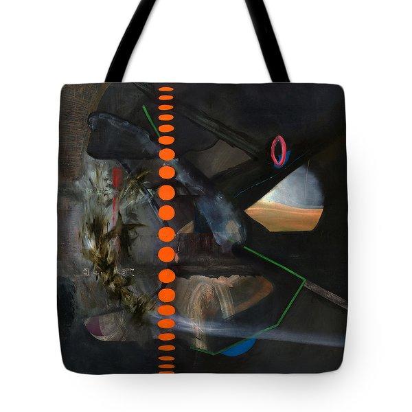 Extraterrestrial  Tote Bag by Antonio Ortiz