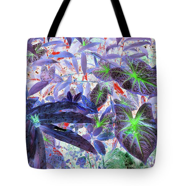 Extravagant Blue Tote Bag