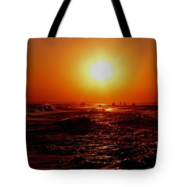 Extreme Blazing Sun Tote Bag by Kendall Eutemey