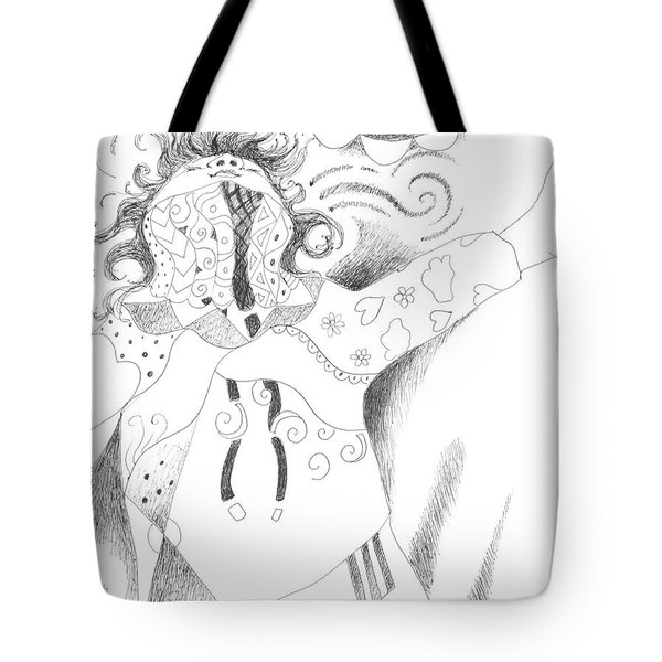 Exuberance Tote Bag by Helena Tiainen