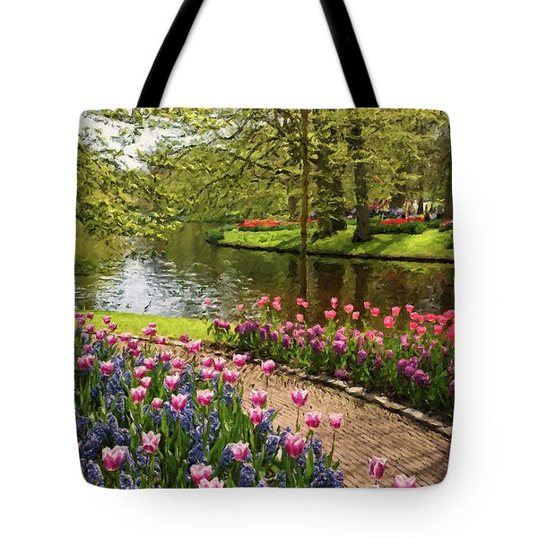 Tote Bag featuring the painting Exuberance  by Rosario Piazza