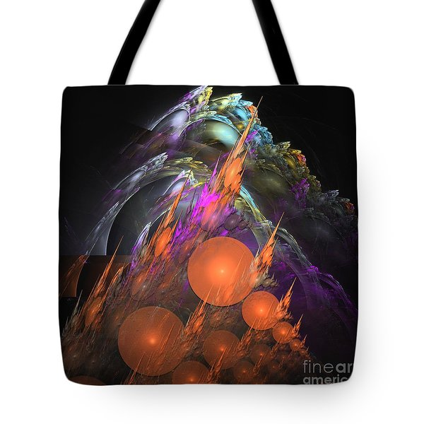 Exuberant - Abstract Art Tote Bag