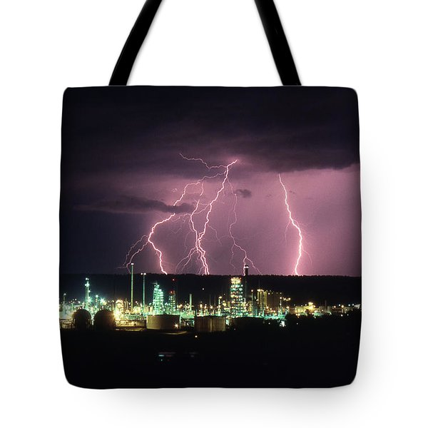 Exxon Lightning Tote Bag