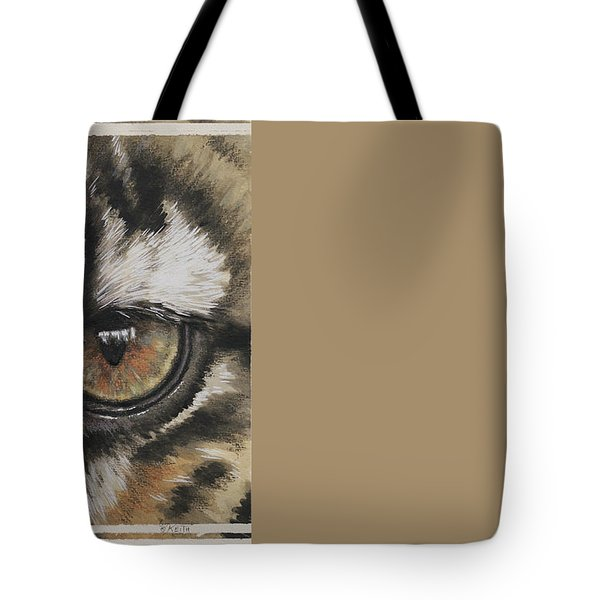Eye-catching Clouded Leopard Tote Bag