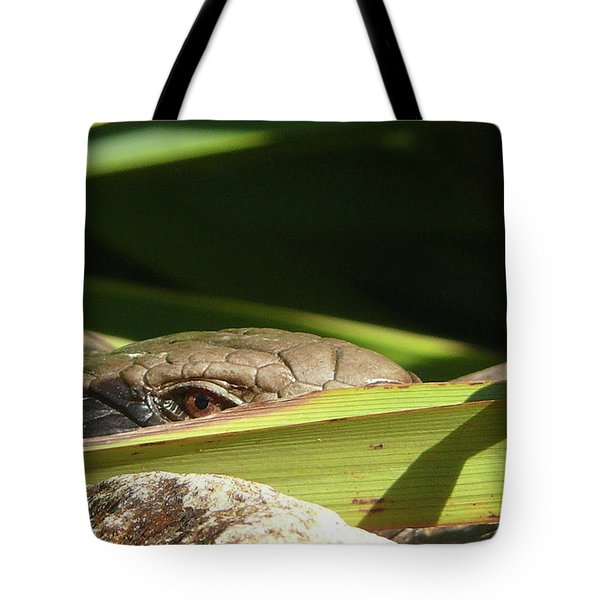 Eye Contact Tote Bag by Evelyn Tambour