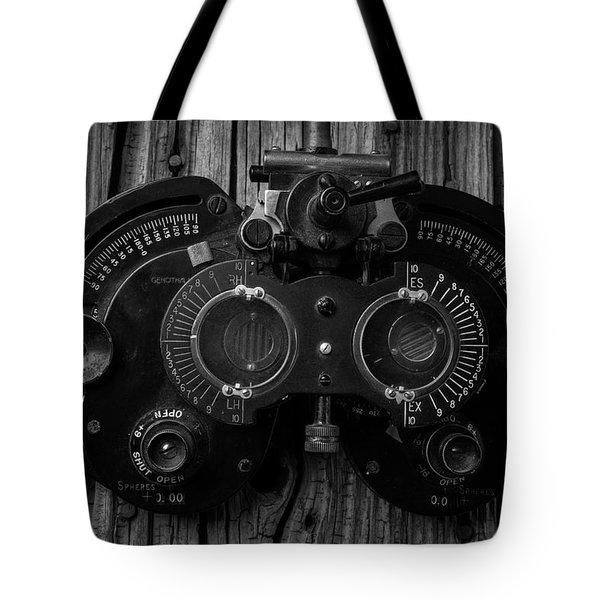 Eye Exam Tote Bag