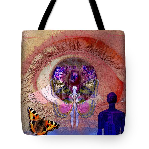 Eye Solar Tote Bag