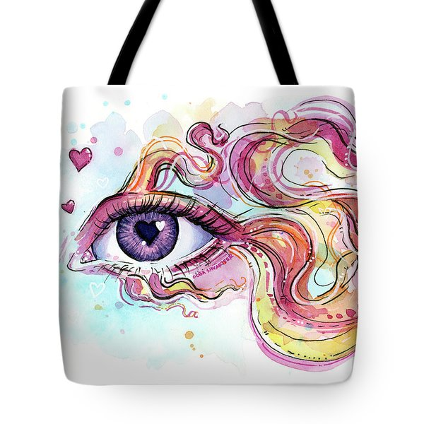 Eye Fish Surreal Betta Tote Bag