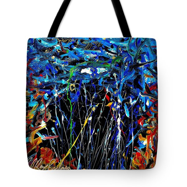 Eye In The Sky And Water Tote Bag