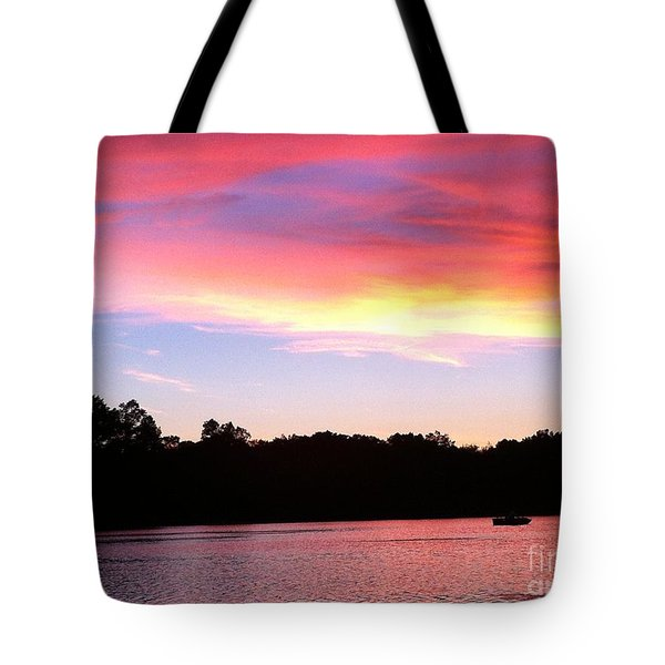 Eye In The Sky Tote Bag by Jason Nicholas