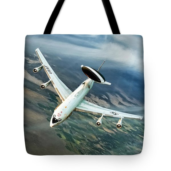 Eye In The Sky Tote Bag by Peter Chilelli