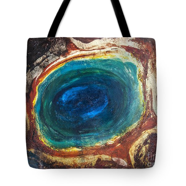Eye Into The Earth Tote Bag