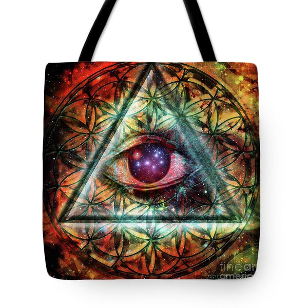 Eye Tote Bag by Mynzah